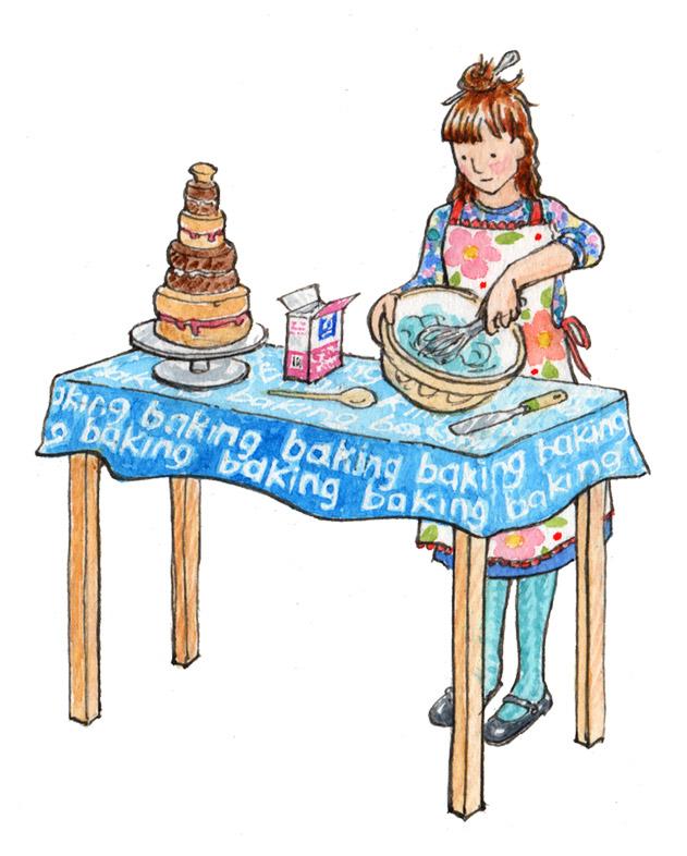 Kate Clarke - Baking