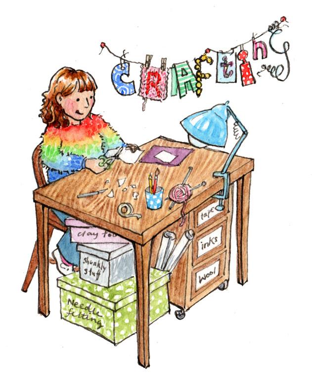 Kate Clarke - Crafting