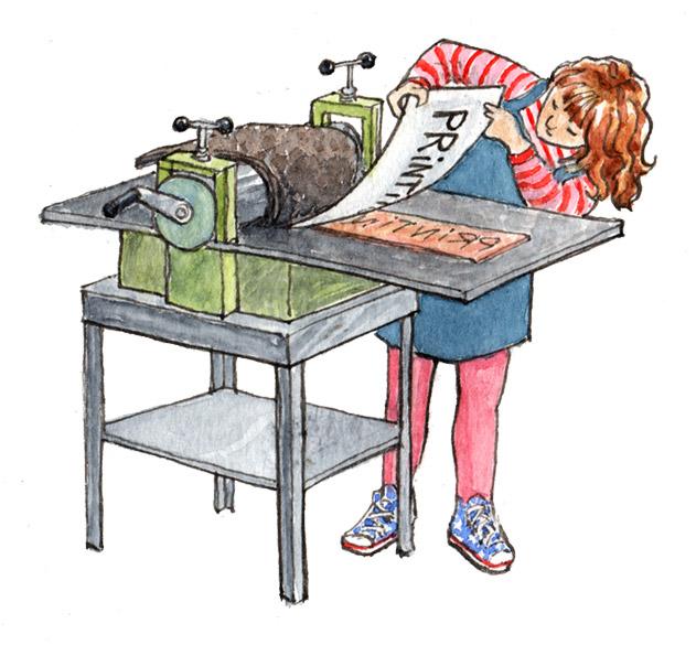 Kate Clarke - Printing