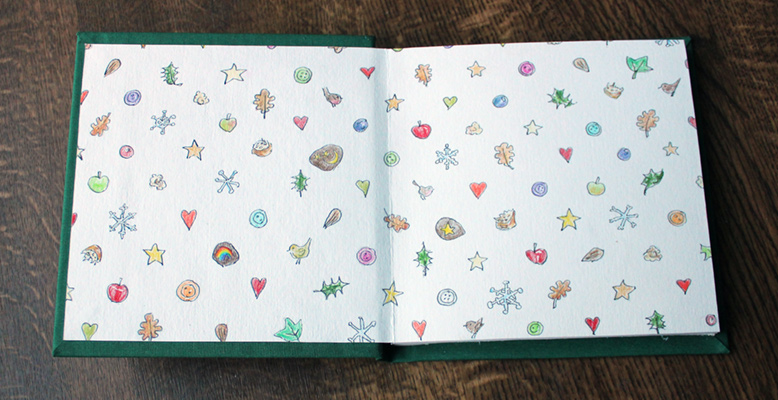 Wintertide - End Papers