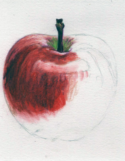 Apple. Demo piece from textures course