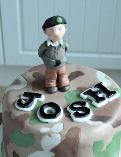 Congratulations cake.