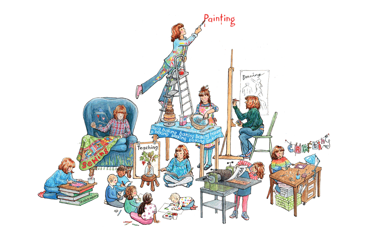 Kate Clarke - Illustrator and multifarious maker