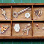Bees and keys and butterfly wings and other, gorgeous, tiddly things