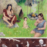 Panel 1 – Mesolithic Stone Age