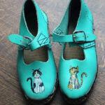 Children's dancing clogs