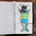 CCC book pages mixed, beetle, boy and fish