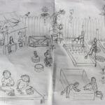 Preparatory Sketch 1