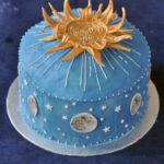 Iced Traditional Epiphany cake