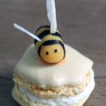 Lemon and honey macarons