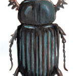 Page illustration, beetle