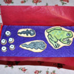 Frog life cycle biscuits