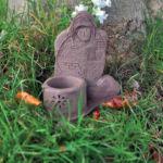 Alan's house memorial vase/tealight holder