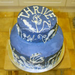 Cake for Thrive exhibition